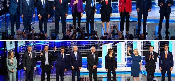 24 Democratic candidate Debates